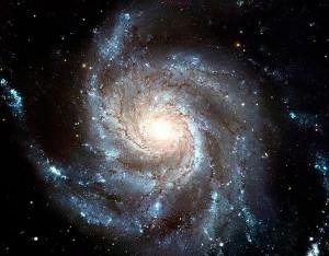 Вечное движение галактики, которая даже формой напоминает данный символ.