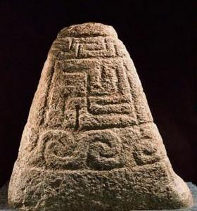 Свастика на кельтском памятнике 4 в. до н.э.