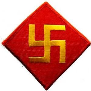 Нашивка 45-ой Пехотной дивизии армии США до 1930 г.