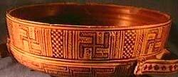 Греция. Музей Отаго. Ваза с геометрическим узором. 8 в. до .н.э.