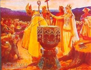 Ядвига стала формальной крестительницей Литвы.