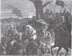 Витовт и Ягайло накануне Грюнвальдской битвы