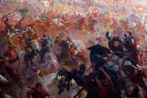 Грюндвальская битва.